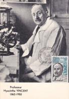 Carte-Maximum FRANCE  N° Yvert 1350 (Professeur VINCENT) Obl Sp Foire De Bordeaux  RR - 1960-69