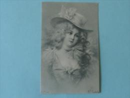 Femme élégante Au Chapeau - Femmes