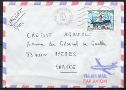 Nouvelle-Calédonie - 1981 - Lettre - Yvert N° PA 202 - Luftpost
