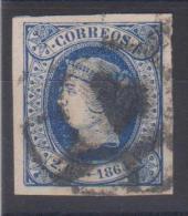 02002 España Edifil 63 O Catalogo 26,-€ - 1850-68 Reino: Isabel II
