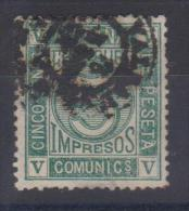 02013 España Edifil 117 O Catalogo 116,- € - 1872-73 Reino: Amadeo I