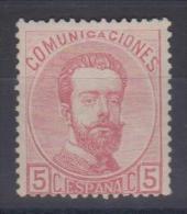 02014 España Edifil 118 * Catalogo 35,- € - 1872-73 Regno: Amedeo I