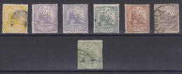 02021  España EDIFIL 143 -  148 / 150 (*) / O  Catalogo  295,- € - 1873 1ª República