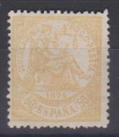 02021  II España EDIFIL 149 (*)  Catalogo  193,- € - 1873 1. Republik