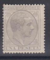 02025 España EDIFIL 197 (*) Catalago 112,-€ - 1875-1882 Reino: Alfonso XII