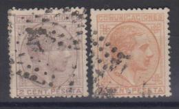 02026 España EDIFIL 190 / 191 O Catalago 34,-€ - 1875-1882 Kingdom: Alphonse XII
