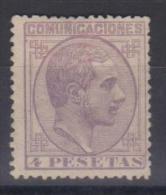 02027 España EDIFIL 198 (*) Catalago 305,-€ - 1875-1882 Royaume: Alphonse XII