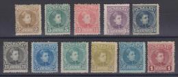 02031 España Edifil 241 - 244 / 246 - 250 / 252 - 253 * Catalogo  480,-€   - OCASION - - Unused Stamps