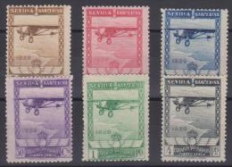 02045 España EDIFIL 448 - 453 * Catalogo 158,- € - 1889-1931 Reino: Alfonso XIII