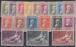 02046 España EDIFIL 499 - 515 * Catalogo 61,- € - Unused Stamps