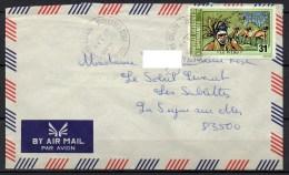 Nouvelle-Calédonie - 1978 - Lettre - Yvert N° PA 164 - Luftpost