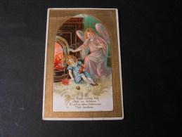 == Engel Rettet Kind Am Feuer , Poesie ,, Ca, 1910  Bug - Engel