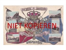 TOP TOP TOP - HEMIXEM - HEMIKSEM _ UN BON SOUVENIR D' HEMIXEM - MARCOVICI - ZEER ZELDZAAM - Hemiksem