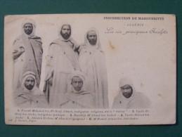 CPA Algérie - Insurrection De Margueritte (Aïn Torki) 1901 - Les 6 Principaux Inculpés - Mannen