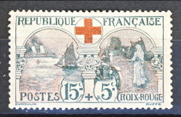 Francia 1918 Pro Croce Rossa Y&T N. 156 MLH Ben Centrato - Unused Stamps