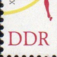Langlauf 1964 DDR 1043 I/1044 ZD W5 + W5 I ** 20€ Olympiade Tokio Judo Laufsprint Olympic M/s Sport Se-tenant Bf Germany - Erreurs De Gravure