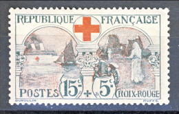 Francia 1918 Pro Croce Rossa Y&T N. 156 MLH - Unused Stamps