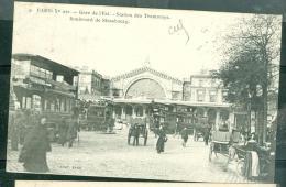 N°9  Paris  ( Xe Arrondissement )  )   -    Gare  De L'est - Station Des Tramways - Boulevard De Strasbourg  -    Rac156 - Metro, Stations