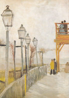 DG003 - VINCENT VAN GOGH - MONTMARTRE - UNWRITTEN - IMPRESSIONISM - Paintings