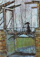 DG004 - VINCENT VAN GOGH - DRAWBRIDGE AT ARLES - UNWRITTEN - IMPRESSIONISM - Paintings