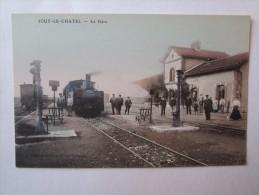 77 Seine Et Marne Jouy Le Chatel La Gare - Frankreich