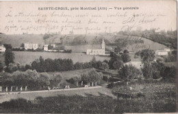 01 - SAINTE CROIX - Près Montluel - Vue Générale (+ Tampon Militaire Du 16 ème Régiment D'artillerie) - Non Classificati