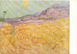 DG027 - VINCENT VAN GOGH - WHEAT FIELD WITH REAPER - UNWRITTEN - IMPRESSIONISM - Paintings