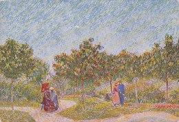 DG029 - VINCENT VAN GOGH - PARK AT ASNIÈRES PARIS - UNWRITTEN - IMPRESSIONISM - Paintings
