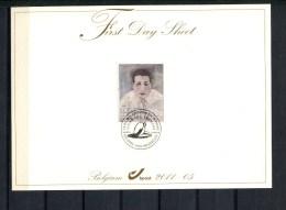 BELGIE  FIRST DAY SHEET OCB 4097 LUC TUYMANS - FDC