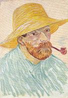 DG033 - VINCENT VAN GOGH - SELF PORTRAIT - UNWRITTEN - IMPRESSIONISM - Paintings