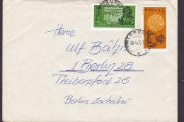 Poland TORUNA 1973 Cover Brief BERLIN Germany Kopernika Copernicus Kopernikus Astronom Stamps - Briefe U. Dokumente