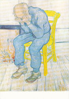 DG054 - VINCENT VAN GOGH - A MAN MOURNING - UNWRITTEN - IMPRESSIONISM - Paintings