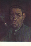 DG065 - VINCENT VAN GOGH - YOUNG MAN WITH PIPE - UNWRITTEN - IMPRESSIONISM - Paintings