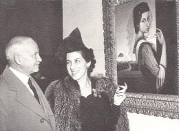 MILENA PAVLOVIC BARILLI-IN FRONT OF HER SELF PORTRAIT - Serbia