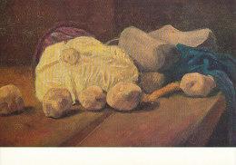 DG073 - VINCENT VAN GOGH - STILL LIFE CABBAGE WOODEN SHOES POTATOES - UNWRITTEN - IMPRESSIONISM - Paintings