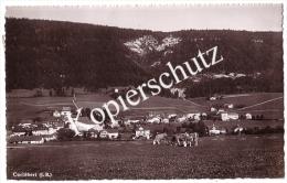 Cortébert 1943, Mit Marke 100 Jahre Schweizerische Postmarken    (z2420) - BE Berne