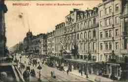 Bruxelles - Grand Hôtel Et Bd Anspach - Zonder Classificatie