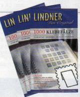 6000 Briefmarken Klebefalze Vorgefalzt Neu 16€ Für Traditionelle Sammeln Von LINDNER 7040 Joins Folded Made Germany - Zubehör