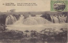 BELG. CONGO 1912 : PWS/E.P./P.St. - ILLUSTR.° Nr.65 – 10 C. : WATERFALL,GEOLOGY,ROCS, - Unclassified
