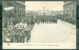 Le 14 Juillet à Paris En 1916  - Les Russes Défilant Rue Royale   Rad13 - Guerre 1914-18