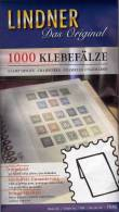 Join Fold 6x1000 Briefmarken Klebefalze Vorgefalzt New 18€ Für Traditionelles Sammeln Von LINDNER #7040 Out Germany - Zubehör