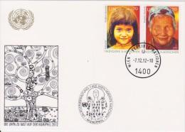 United Nations Show Card ´Sindelfingen´ - October 2012 - Indigenous Peoples - 2012 - Centre International De Vienne