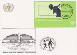 United Nations Show Card 2012 ´Salon Philatélique Paris´ - November 2012 - Block 31 - Paralympic Summer Games, London - Centre International De Vienne