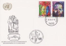 United Nations Show Card 2012 ´Numiphil´ - December 2012 - Indigenous Peoples - Centre International De Vienne