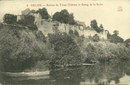 58 Niévre  DECIZE Ruine Du Vieux Chateau Et étang De La Boire - Decize