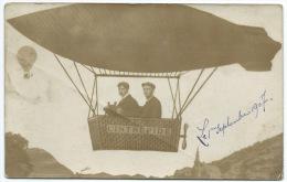 CPA / ZEPPELIN / L'INTREPIDE / FANTAISIE - Airships
