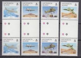 Ascension 1992 Liberation Of The Falkland Islands 4v Gutter ** Mnh (20759) - Ascension