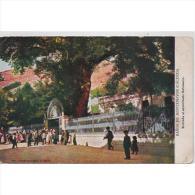 CCRTP4103-LFTD6238.Tarjeta Postal DE CACERES.Edificios.casas,personas Entrando A Los BAÑOS DE MONTEMAYOR.Caceres - Cáceres