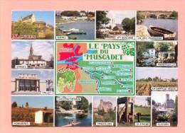 CPM  FRANCE  44  -  LOIRE-ATLANTIQUE  -  101  Le Pays Du Muscadet  ( Miegeville-Deleville 1992 ) - Francia