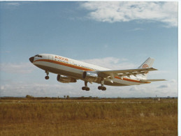 AVIATION Avion Avions A300B F-WUAB Airbus A 300 B.1er Vol 1973-Immatriculation D´essai-Aérospatiale PHOTO Format 24 X 18 - Aviation